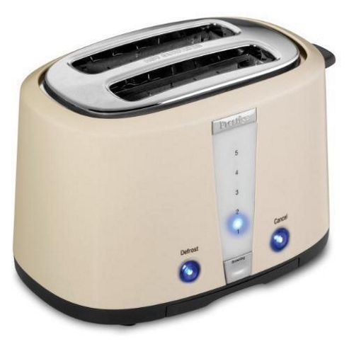 Prestige Dakota Toaster in Almond