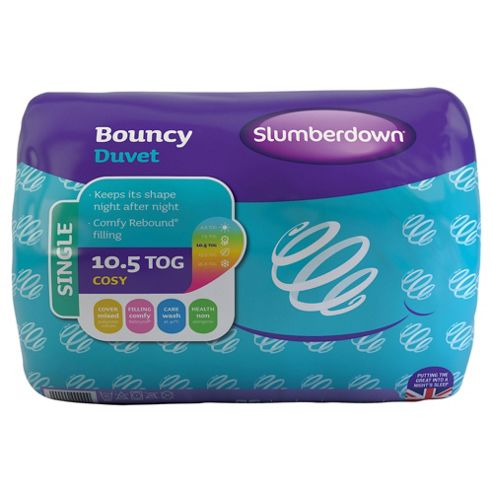Slumberdown Bouncy 10.5 Tog Duvet Single