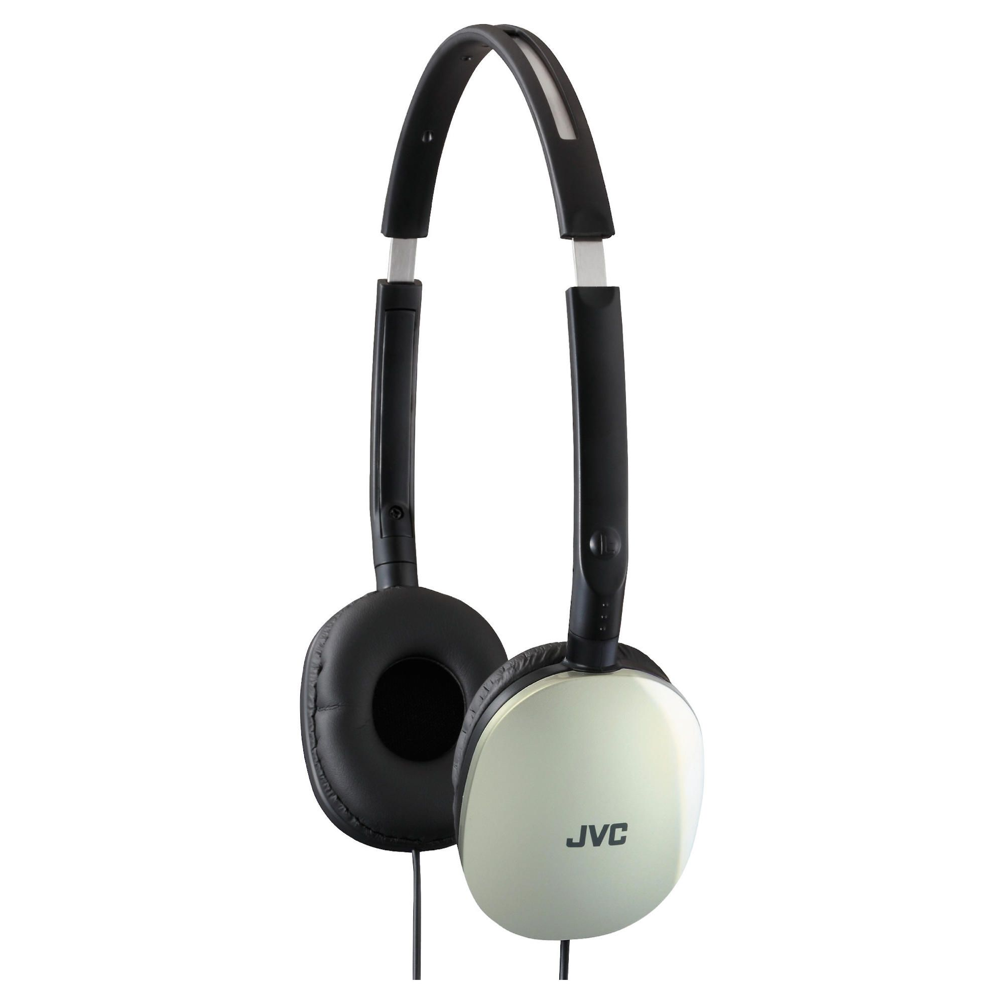 Offerta: JVC Flats Foldable Style Stereo Headphones Silver HAS160S