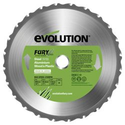 Evolution FURY 255mm Multipurpose TCT Blade (Green)