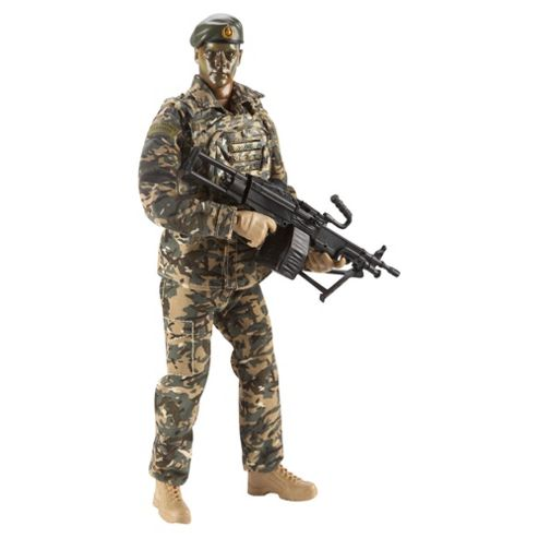 H.M Armed Forces Figure with FX Styles May Vary