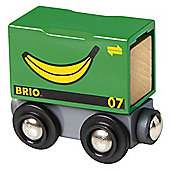 Brio Classic Freight Banana Wagon, wooden toy