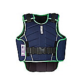 Harry Hall Child's Zeus Body Protector Navy L