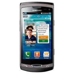 Tesco Mobile Samsung Wave II Ebony Grey