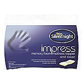 Silentnight Deluxe Impress Memory Foam Topper Single