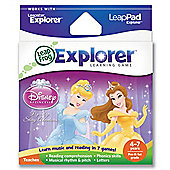 Leapster LeapPad Explorer Disney Princesses Game
