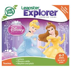 LeapFrog Leapster Explorer Disney Princesses Game
