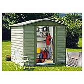Yardmaster 7'5x6'1 Metal Shiplap Shed with floor support frame