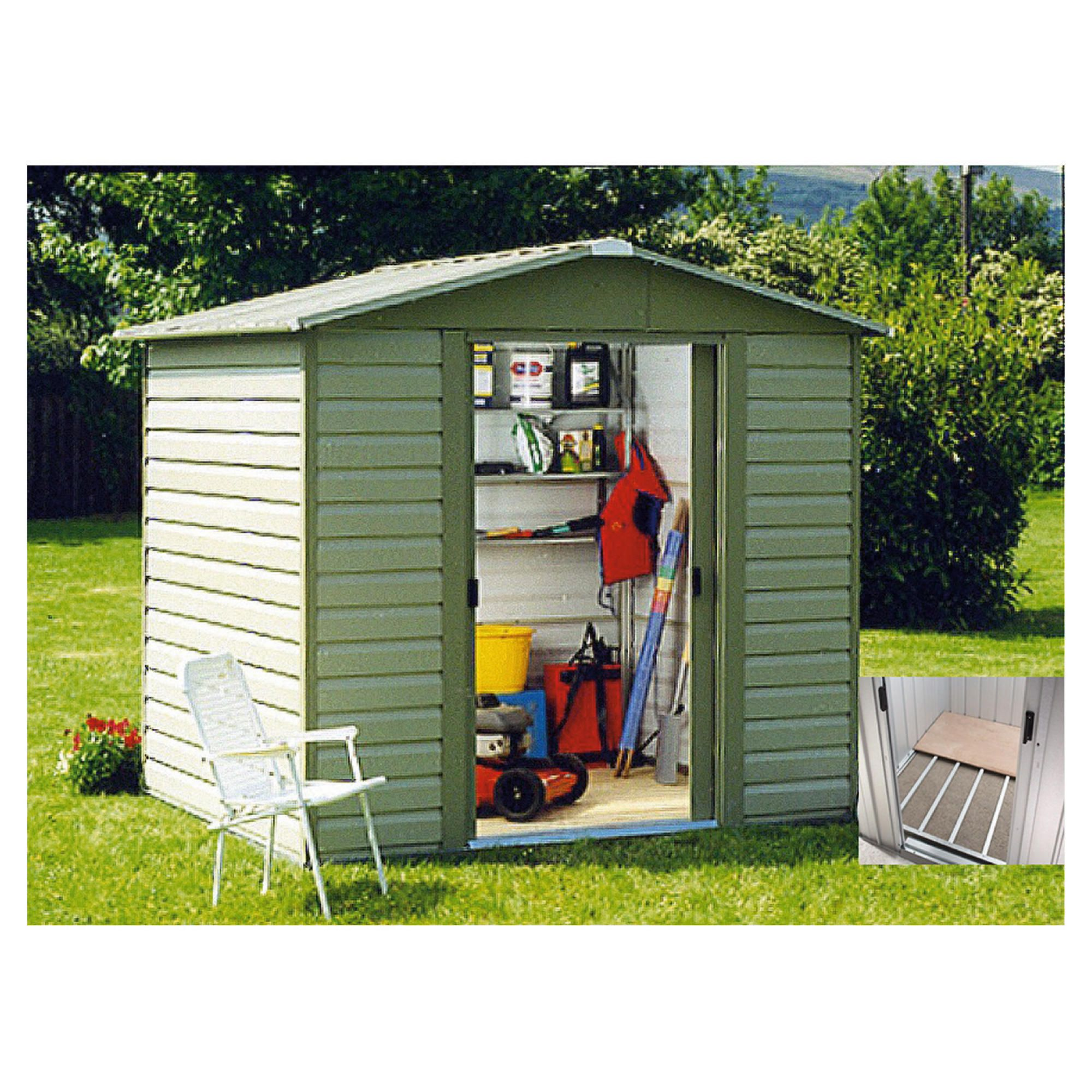 Shed 8x6 double door nma for Garden shed 8x6