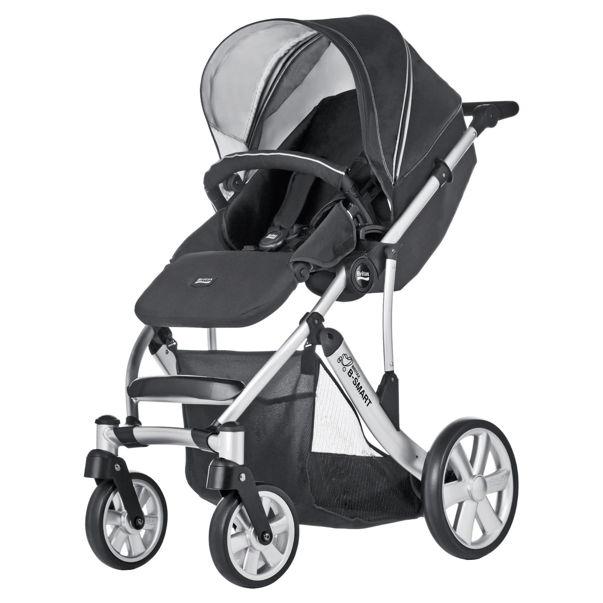 Britax B Smart 4 Neon Pushchair, Black at Tesco Direct