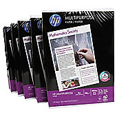 HP Multi Purpose 80Gsm Pack Of 5 (2500 Sheets)