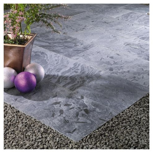 Natural Stone Moonlight Patio Kit 2.4x2.4m
