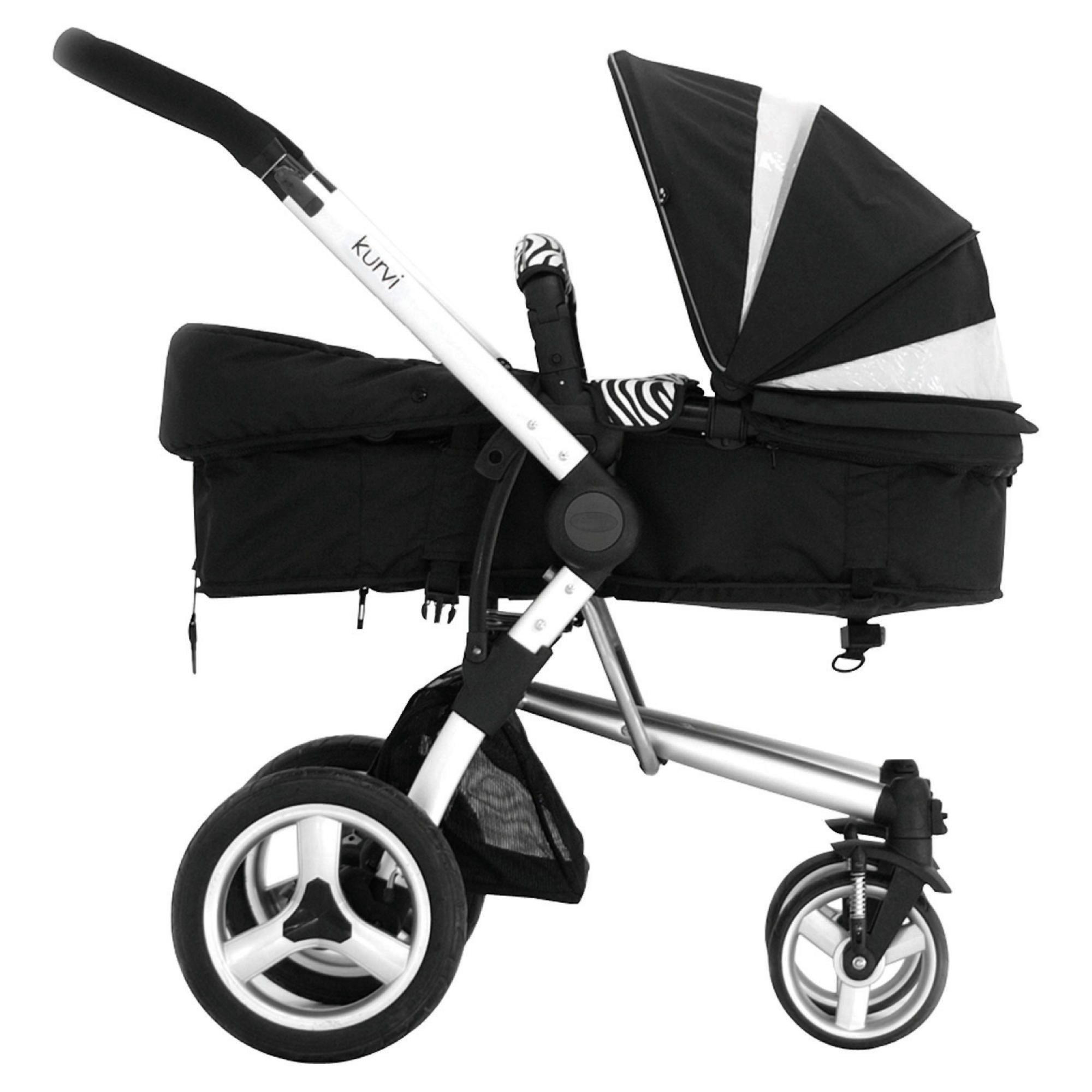 Petite Star Kurvi Abstract 3-in-1 Pramette Pushchair at Tesco Direct