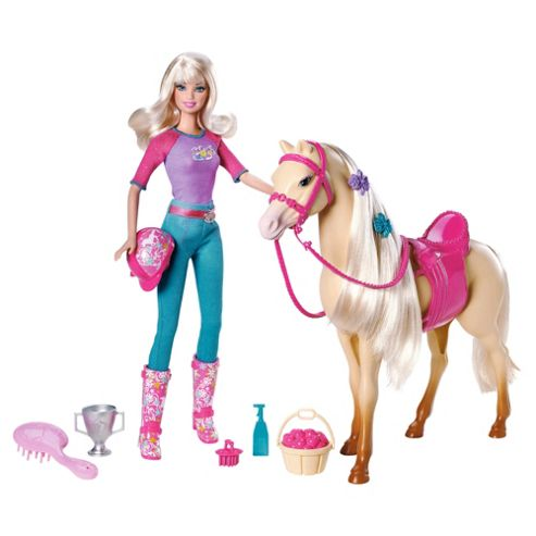 Barbie Tawny Doll and Horse