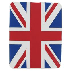 Pro-Tec stylish case for the new Apple iPad and iPad 2 Union Jack (Red, White and Blue)