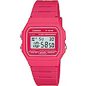 Casio Ladies F-91W Pink Watch F-91WC-4AEF