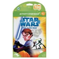 LeapFrog Tag Star Wars the Clone Wars Book