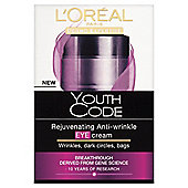 L'Oreal Paris Youth Code Anti-wrinkle Eye Cream 15ml