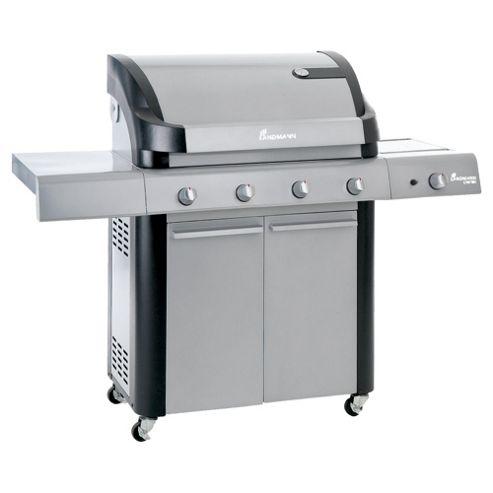 Landmann Cronos 4 Burner Gas BBQ + Side Burner & Cabinet 12773