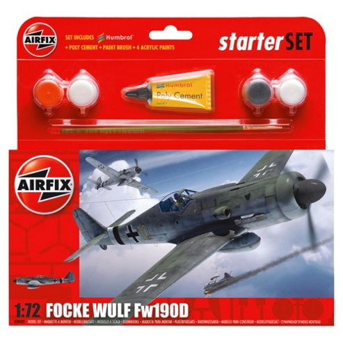 Airfix Fw190D 1:72 Scale Cat 1 Gift Set