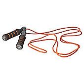 York Fitness Leather Skipping Rope