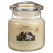 Colony White Jasmine Medium Candle Jar
