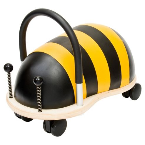 Wheelybug Bee Ride-On Toy, Small
