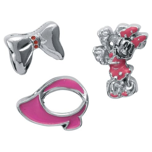 Set of 3 Disney Minnie Charms