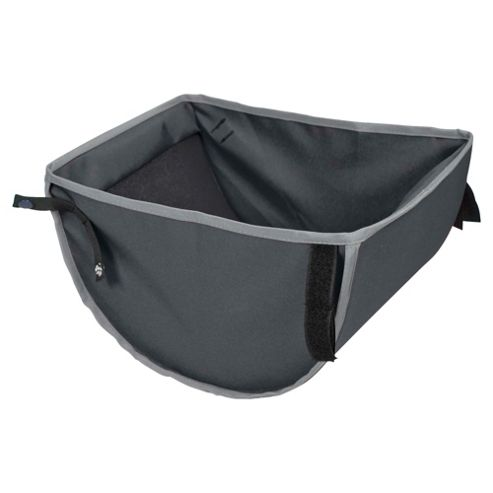 Out 'n' About Single Storage Pushchair Basket 360, Charcoal