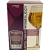 WineBuddy 7 day Chardonnay Kit, 6 bottles