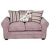 Amelie Small Fabric Sofa, Lilac
