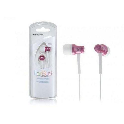 Memorex Products Inc EB50 In Ear Headphones Pink