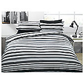 Stripe Print (BLACK) King Size