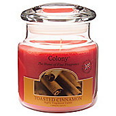 Colony Toasted Cinnamon Medium Candle Jar
