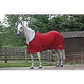 Masta Wembley Show Rug Rumba Red 6ft9