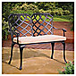 Hartman Verona Cast Aluminium Bench & Cushion