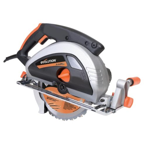 Evolution RAGE230 Multipurpose Circular Saw (Orange)