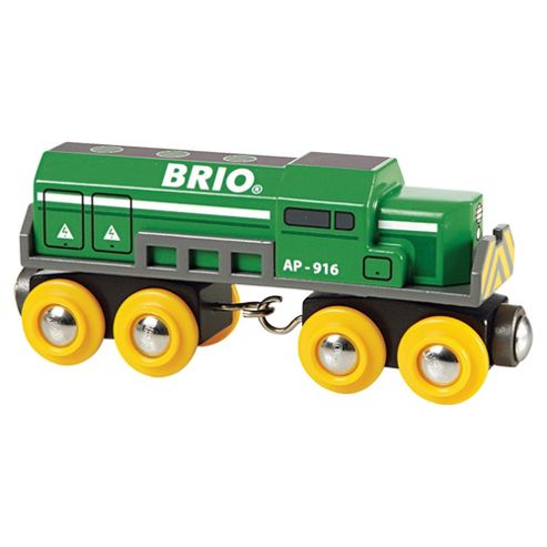 Brio Classic Accessory Freight Locomotive, wooden toy