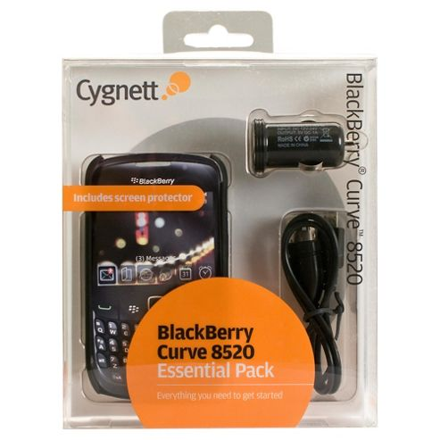 Cygnett BlackBerry® Curve™ Bundle Apple 8520/9300 Black