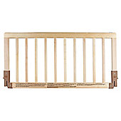 Babydan Wooden Bedrail, Natural