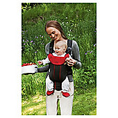BabyBjorn Baby Carrier Active, Black & Red