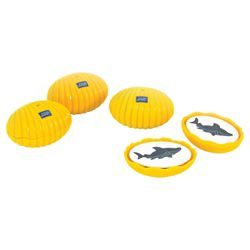 Zoggs Clams Swimming Toy, Yellow