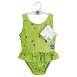 Bambino Mio Swim suit, Medium Lime Fish