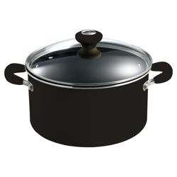 Prestige 24cm Non-stick Stockpot, Black