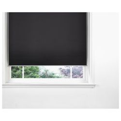 Strand Metal Roller blind Black 180cm