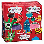Plasticine Basix 6 Colour Pack