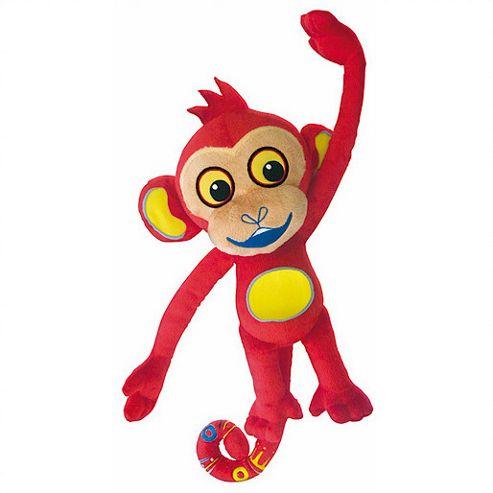 Ban Dai Tinga Tinga Tales Monkey Feature Soft Toy