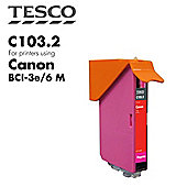 Tesco BCI3/6 Magenta Printer Ink Cartridge (for Canon BCI-3/6 Magenta )