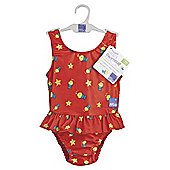 Bambino Mio Nappy Swim Suit- Red Fish X Large