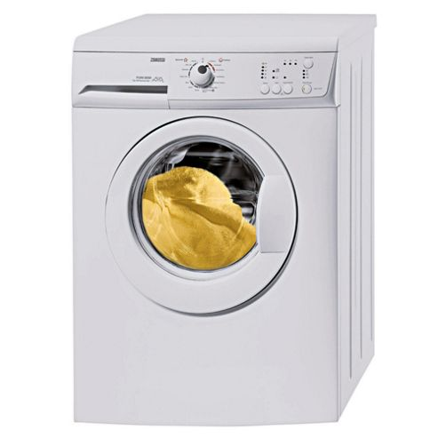 Zanussi ZWG1121P Washing Machine, 6kg Wash Load, 1200 RPM Spin, A Energy Rating. White